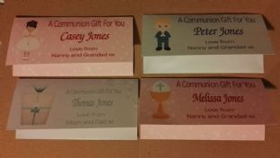 Communion Money Gift Wallets